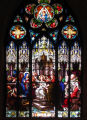 Immaculate Conception Stained Glass Window