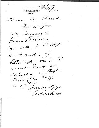 [James Bertram to Samuel Harden Church, April 10, 1912]