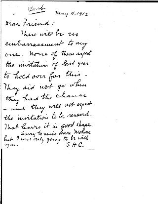 [Samuel Harden Church to Andrew Carnegie, May 11, 1912]