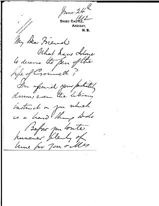 [Andrew Carnegie to My Dear Friend [Samuel Harden Church], June 24, 1902]