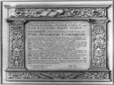 Resolution of thanks of the City of New York for branch libraries, 23rd of April, 1901