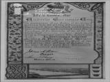 Burgess ticket of the City of Waterford, Ireland, 19th October, 1903