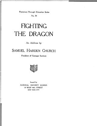 Fighting the dragon