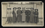 Photograph of missionary women in China