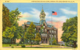 Old Main [1] color postcard Geneva College, Beaver Falls, Pa.