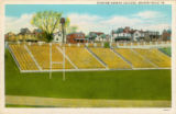 Reeves Field [1] color postcard, Geneva College, Beaver Falls, Pa.