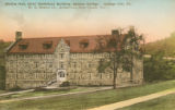 McKee Hall [1] color postcard, Geneva College, Beaver Falls, Pa.