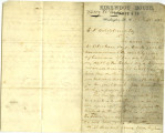 Letter from Harry White to E. P. Hildebrand, April 10, 1865