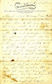 Letter from James Graham to his father, Camp of the 206, March 1, 1865