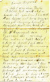 Letter from James Graham to his father from Camp Reynolds in Allegheny County, Pa.,  September 5,...