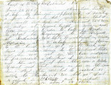 Letter from James Graham to his sister, Agnes, Camp of the 206th, near Richmond, Virginia, June...