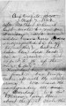 Letter from William Gustin Lowry to Rhoda Stone Lowry, May 7, 1862