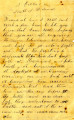 Letter from James Graham to friends at home, south of Richmond, October 1, 1864