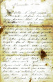 Letter from James Graham to his father, November 15, 1864