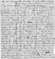 Letter from William Gustin Lowry to Margaret Judson Lowry, May 26, 1862