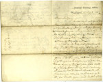 Letter from Titian J. Coffey to Thomas White, September 17, 1862