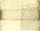 Letter from Harry White to Thomas White, November 5, 1862
