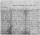 Letter from William Gustin Lowry to Margaret Judson Lowry, June 23, 1862