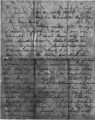 Letter from William Gustin Lowry to Rhoda Stone Lowry, May 7, 1863; Letter from Rhoda Stone Lowry...