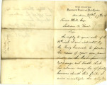 Letter from James R. Shaffer to Thomas White, March 17, 1864