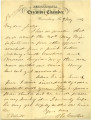 Letter from A. G. Curtin to Thomas White, July 9, 1864