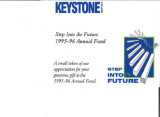 Keystone College Step into the Future 1995-1996