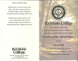 Keystone College Assoicate and Baccalaureate Degrees