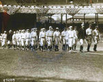 1919 Opening Game at Polo Grounds in New York City