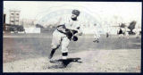 Christy Mathewson on the field