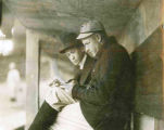 Christy Mathewson Signing Autograph