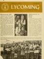 Newsletter from Lycoming College, November 1970