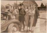 Pennsylvania Motor Policeman with Women Driver Education Students
