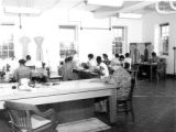 African American inmates in sewing class at the State Industrial Home for Women at Muncy, PA.