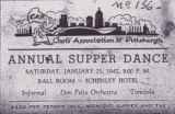 Annual Supper Dance Ticket 1947