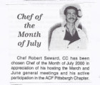 Chef of the Month July 2000