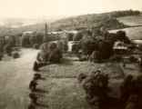 Aerial view of Williamson's campus, 1942