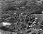 Aerial photo of campus, 1940