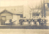 Bridgeville train station circa 1910.