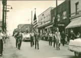 Memorial Day parade - Bridgeville American Legion - 1953.