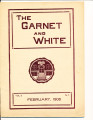 The Garnet and White February 1908