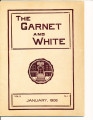 The Garnet and White January 1908