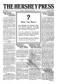 The Hershey Press 1919-01-09