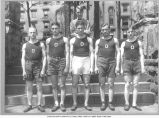 Track Team, 1922 or 1923