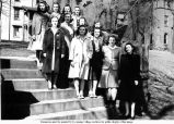 1941 May Queen and her court