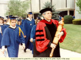 Procession of Graduates, Commencement 1989
