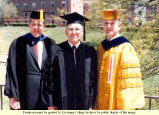 College Administrators at Commencement 1986
