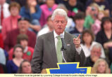 Former President Bill Clinton Visits Lycoming College