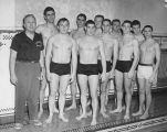 Men's Swim Team 1958-1959