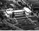 Aerial View, Focusing on the Academic Center, 1968