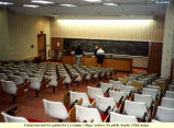 Barclay Lecture Hall in Heim Biology and Chemistry Building